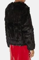 Topshop Faux Fur Bomber Jacket