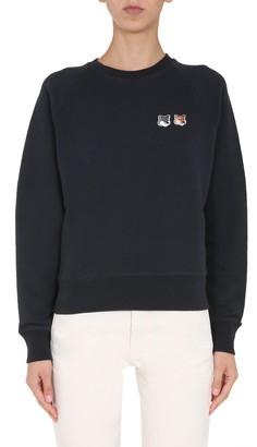 MAISON KITSUNÉ Round Neck Sweatshirt