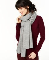 Charter Club Cashmere Metallic Oversized Wrap, Created for Macy's