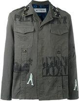 Etro printed military shirt jacket - men - Cotton/Spandex/Elastane/Silk/Cupro - S