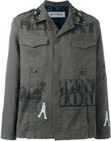 Etro printed military shirt jacket - men - Silk/Cotton/Spandex/Elastane/Cupro - M