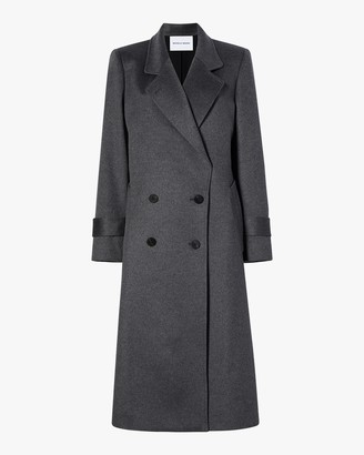 Michelle Waugh The Melanie Double Breasted Cashmere Coat