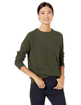 Goodthreads Wool Blend Thermal Stitch Crewneck Sweater Pullover,S