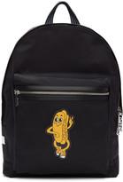 Kenzo Black Logo Backpack
