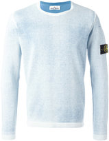 Stone Island logo patch jumper - men - Cotton - M