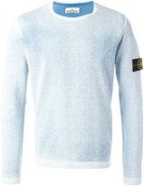 Stone Island logo patch jumper - men - Cotton - XL