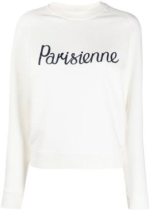 MAISON KITSUNÉ Parisienne knit jumper