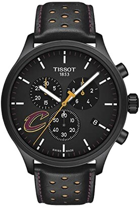 Tissot Chrono XL NBA Chronograph Cleveland Cavaliers - T1166173605101 (Black/Yellow/Black) Watches