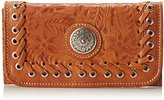 American West Harvest Moon Tri-Fold Wallet