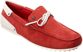 Tod's Tods X Ferrari Gommino Leather Loafer