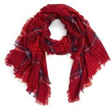 Madewell Women's Plaid Wool Scarf