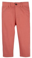Andy & Evan Infant Boy's Coral Twill Pants