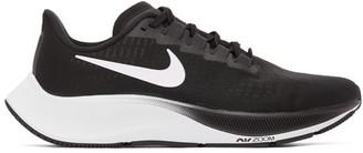 Nike Black and White Air Zoom Pegasus 37 Sneakers