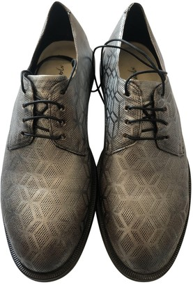 Marsèll Silver Leather Lace ups