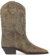Etoile Isabel Marant Isabel Marant - étoile Dallin Suede Boots - Taupe