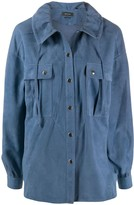 Isabel Marant Alambari drawstring shirt jacket