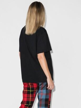 Charles Jeffrey Loverboy Black X Browns 50 Sad Echo Cotton T-Shirt