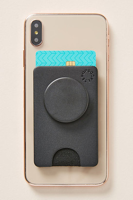 PopSockets Phone Wallet and Stand By PopSockets in Black Size ALL
