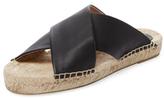 Soludos Leather Crisscross Platform Sandal