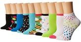 Steve Madden 5-Pack Crews Women's Crew Cut Socks Shoes
