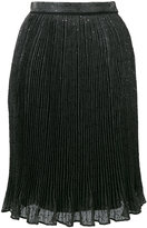 Carven sequined pleated skirt
