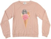 Wildfox Couture Youth Girl's Party Cone Baggy Beach Jumper