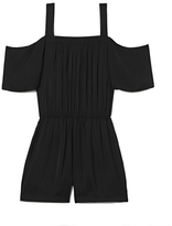 Vince Camuto Cold-shoulder Romper