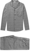 Derek Rose - Ranga Prince Of Wales Checked Brushed-cotton Pyjama Set