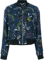 Markus Lupfer arctic flower twill jacket