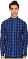 Pierre Balmain Plaid Button Up Shirt