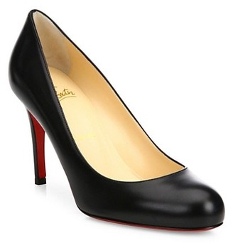 Christian Louboutin Simple Leather Pumps