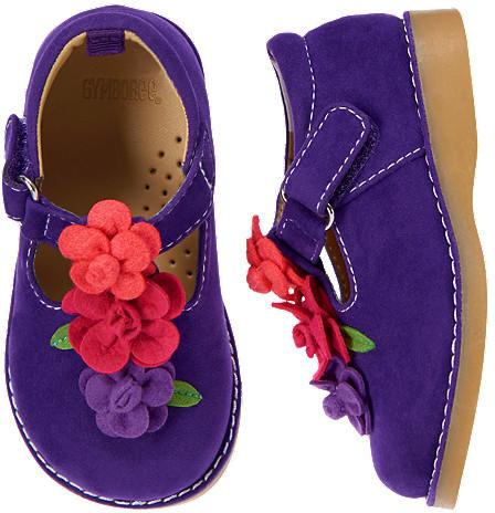 Gymboree Flower Faux Suede Shoe