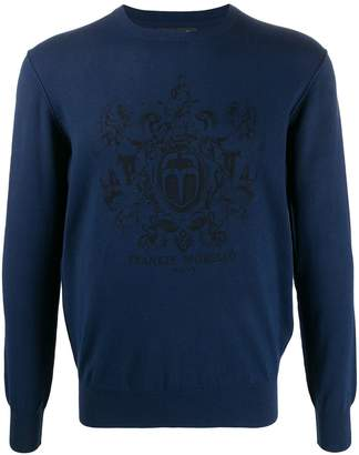 Frankie Morello logo knitted jumper