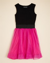 Un Deux Trois Girls' Tulle Skirt Dress - Sizes 7-16