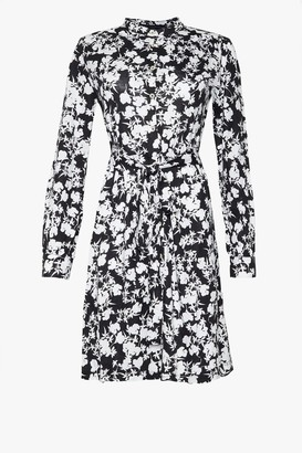 French Connection Eltra Meadow Jersey Shirt Dress