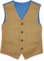 Izod Fine-Twill Suit Vest - Boys 8-20