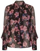 Dorothy Perkins Womens *Girls On Film Multi Floral Print Blouse