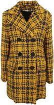 Marni Three-dimensional Checked Coat