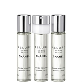 Chanel Allure Homme Sport, Eau De Toilette Refillable Travel Spray