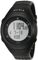 Soleus Unisex SG012-001 GPS Fly Digital Black Watch