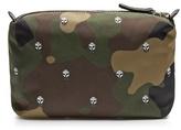 Alexander McQueen Camouflage-print nylon washbag