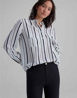 Club Monaco Silk Safari Shirt