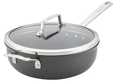 Anolon 4QT. Authority Covered Chef's Pan with Helper Handle