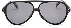 Celine Men's Brow Bar Polarized Aviator Sunglasses, 61mm
