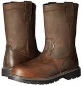 Wolverine Floorhand Welly 10 Steel Toe (Dark Brown) Men's Work Boots