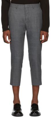 Ami Alexandre Mattiussi Grey Cropped Trousers