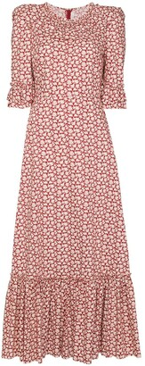 The Vampire's Wife Gloria floral-print cotton dress
