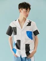 [Unisex] Block Summer Shirt (White)