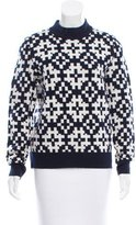 Equipment Wool Patterned Sweater