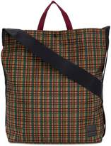 Marni checked shopping tote